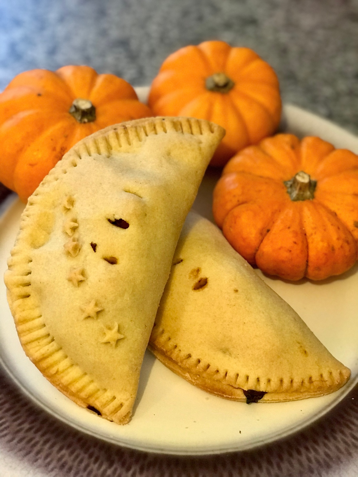 Curried Squash Pasties